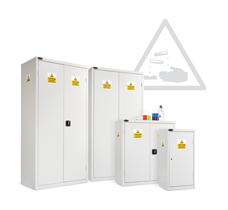 Probe acid cabinets