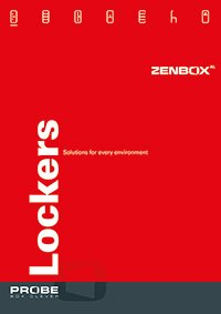 Click to download probe zendox aluminium lockers brochure