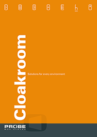 Click to download probe cloakroom brochure