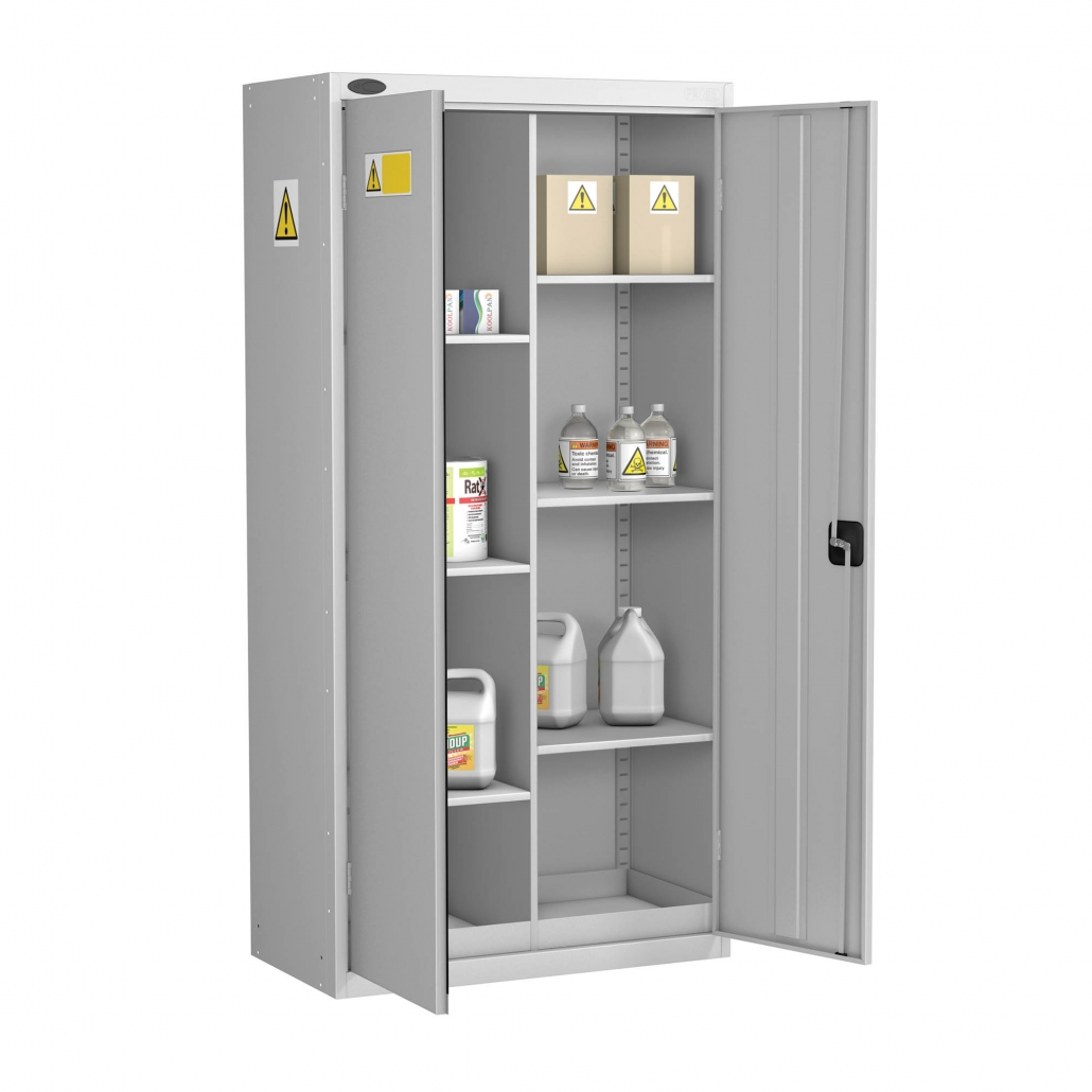 Probe coshh cabinet standard 8 compartment