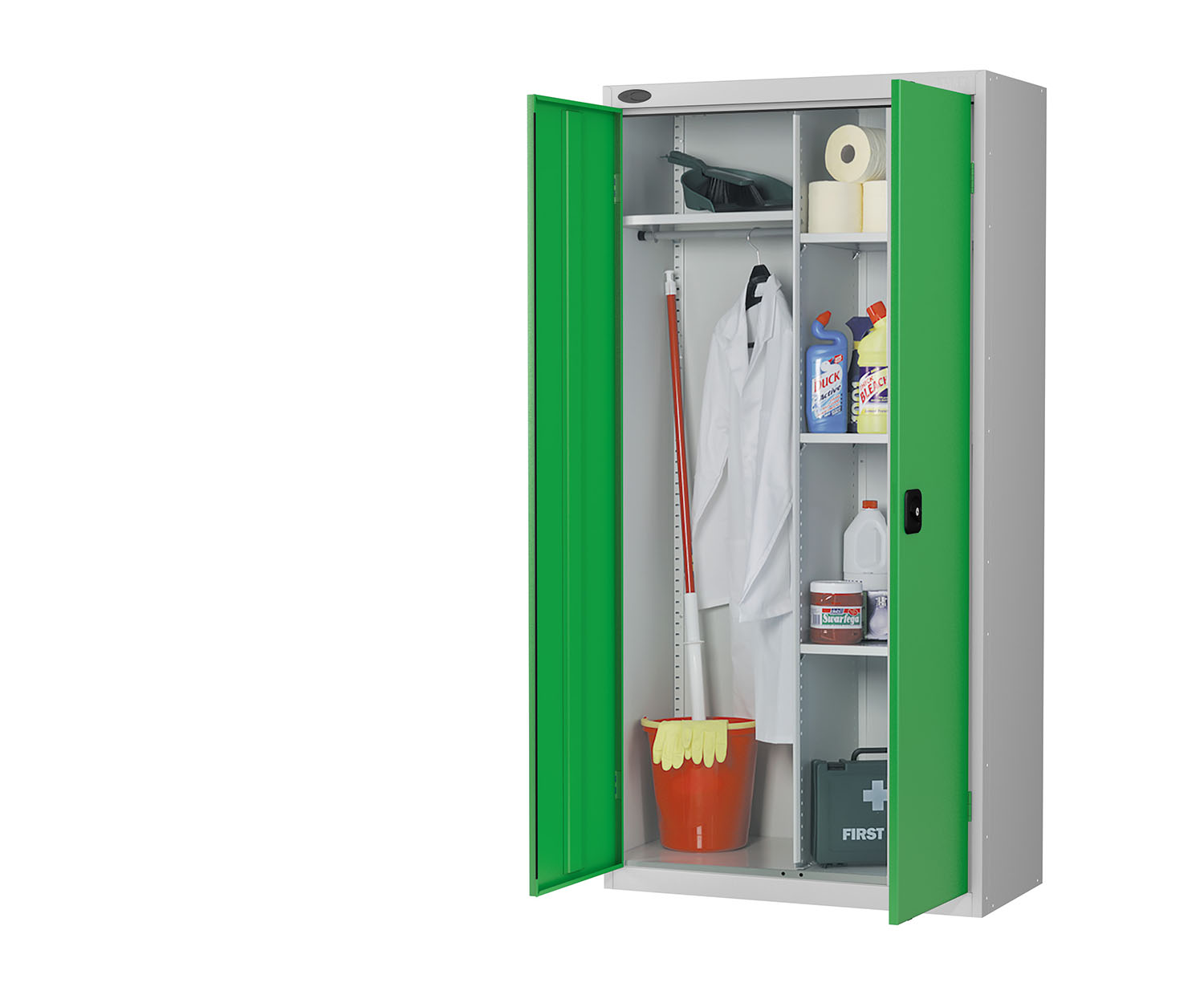 Probe cupboard wardrobe green