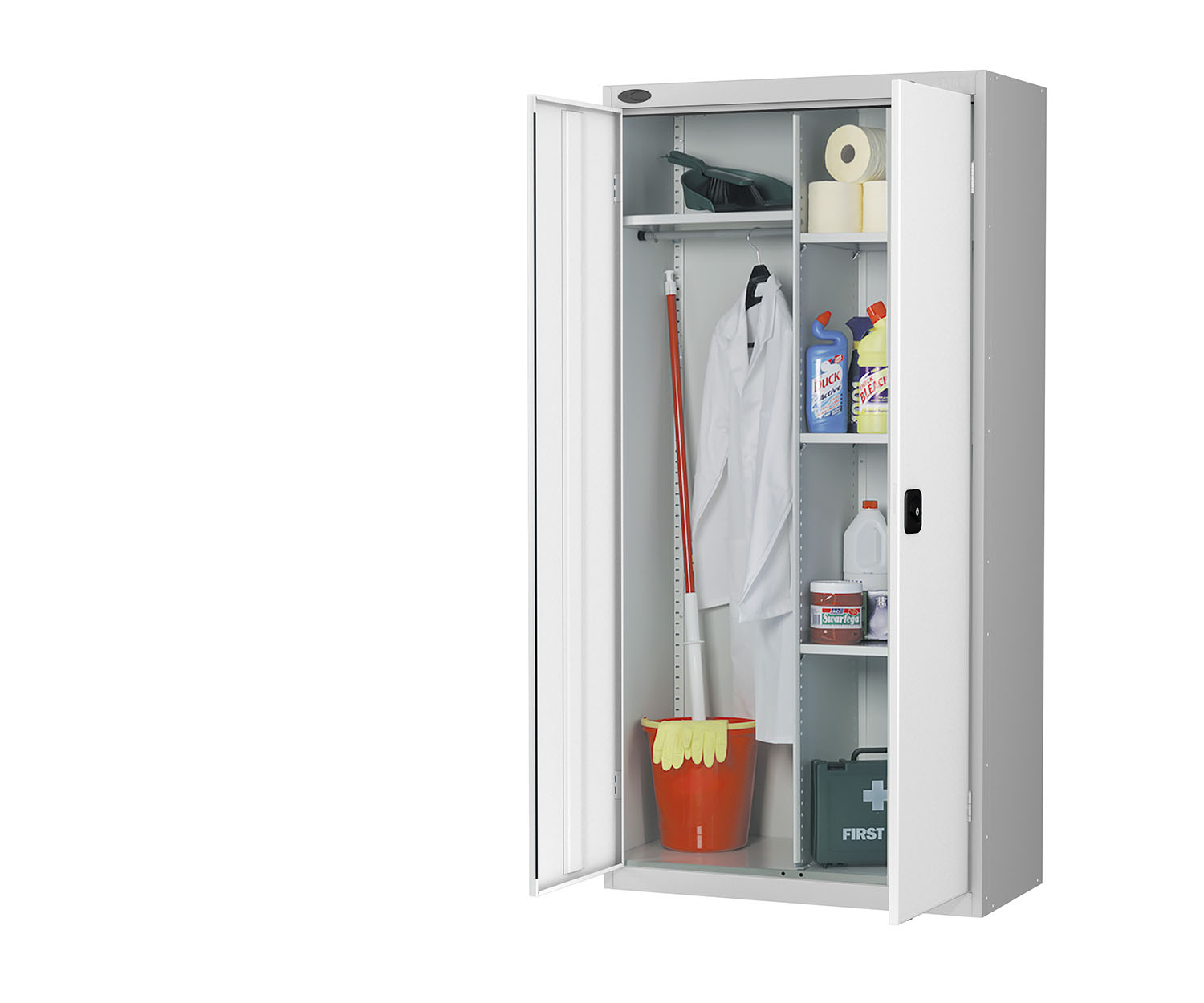 Probe cupboard wardrobe white