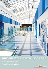 Click to download probe education lockers brochure