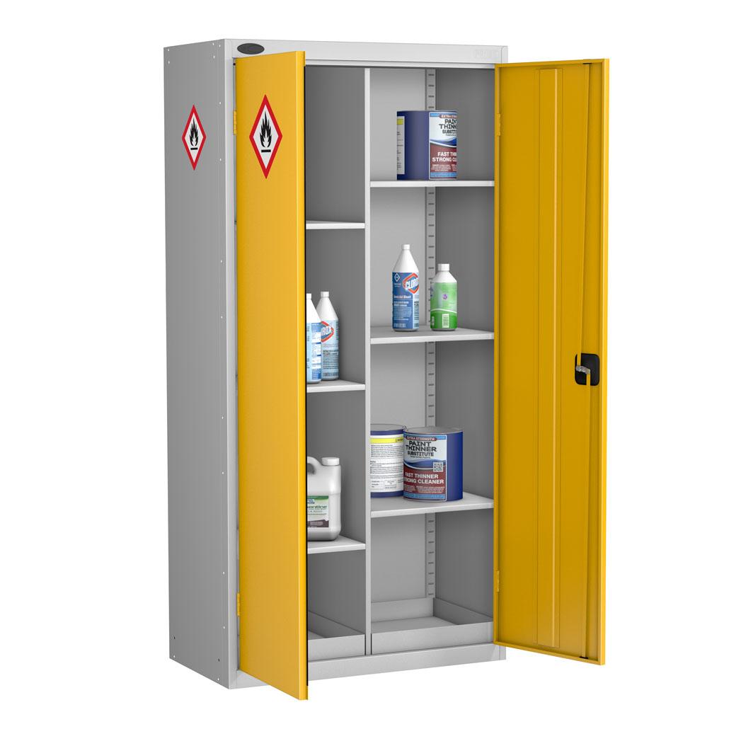Probe hazardous cabinet standard 8 compartment