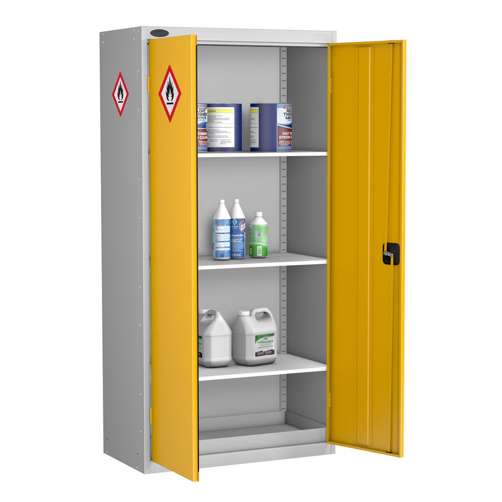 Probe hazardous cabinet standard shelves