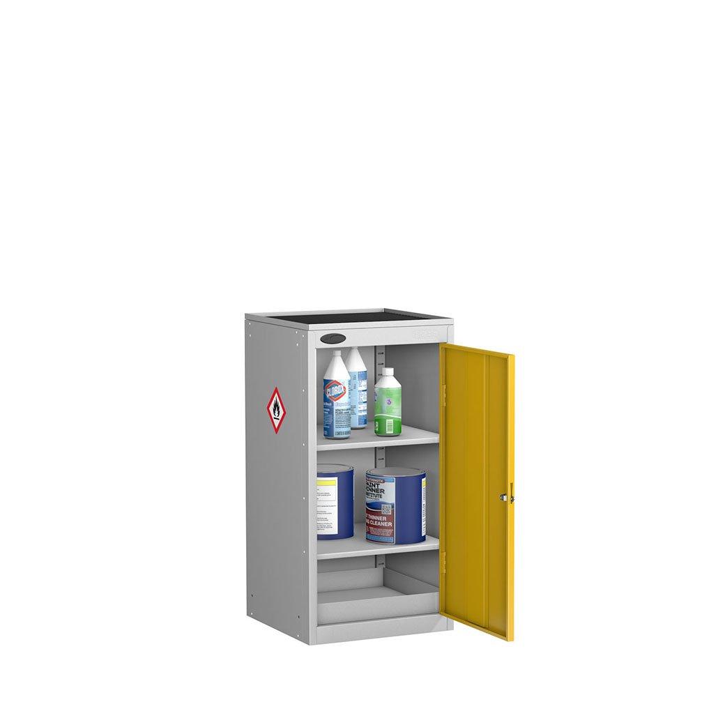 Probe hazardous cabinet with top