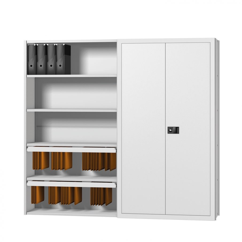 Probe ikon shelving with door set