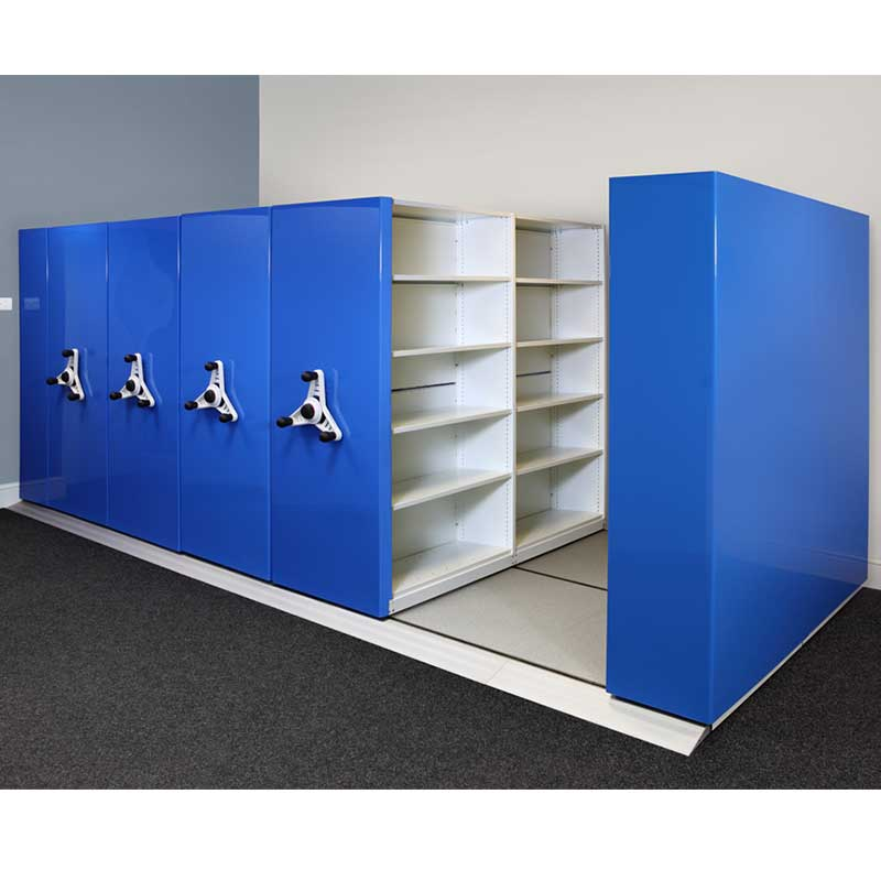 Probe kinetic mobile shelving master