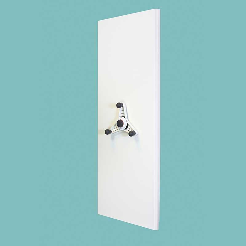 Probe kinetic mobile shelving white end panel