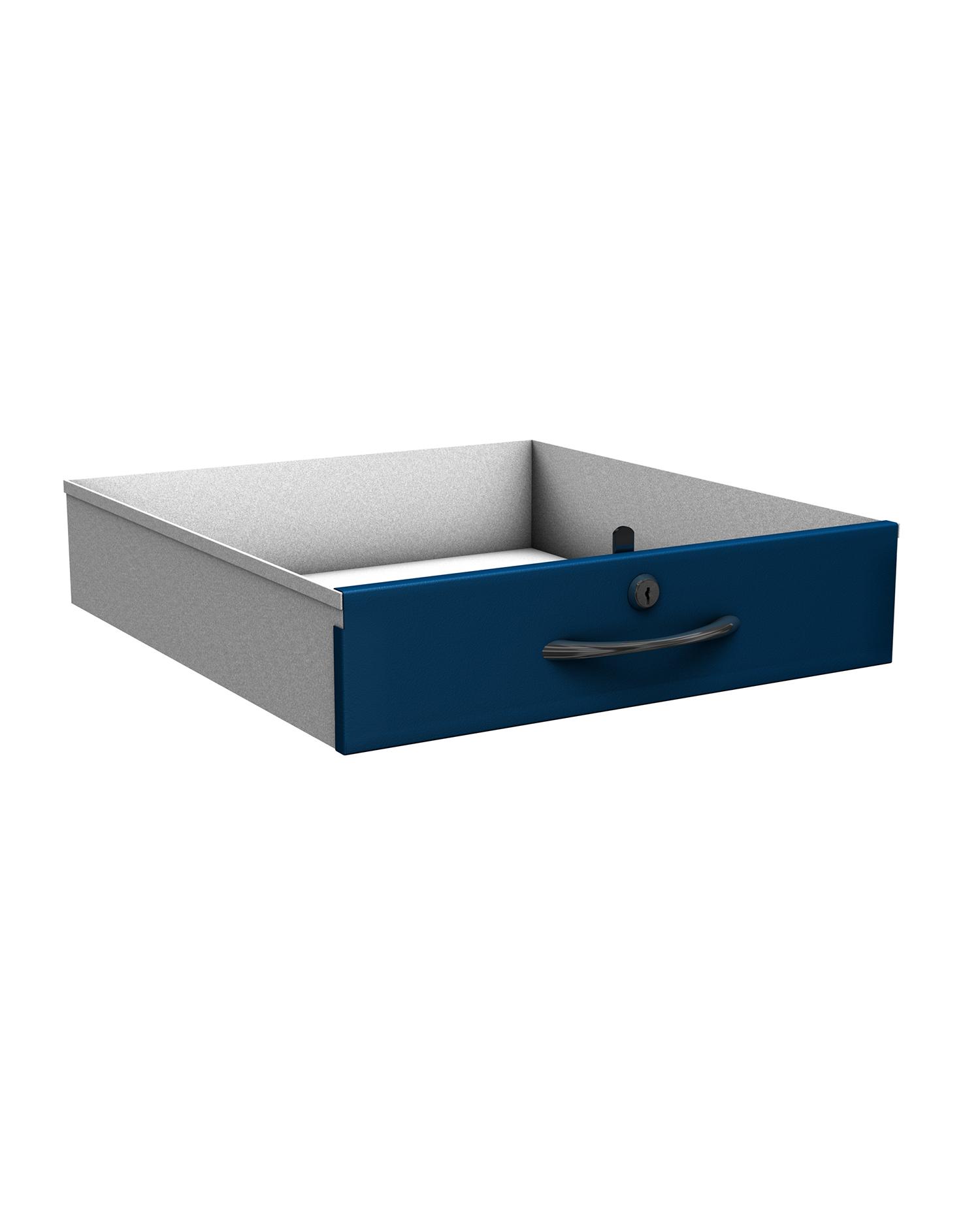 Probe new workstation drawer blue