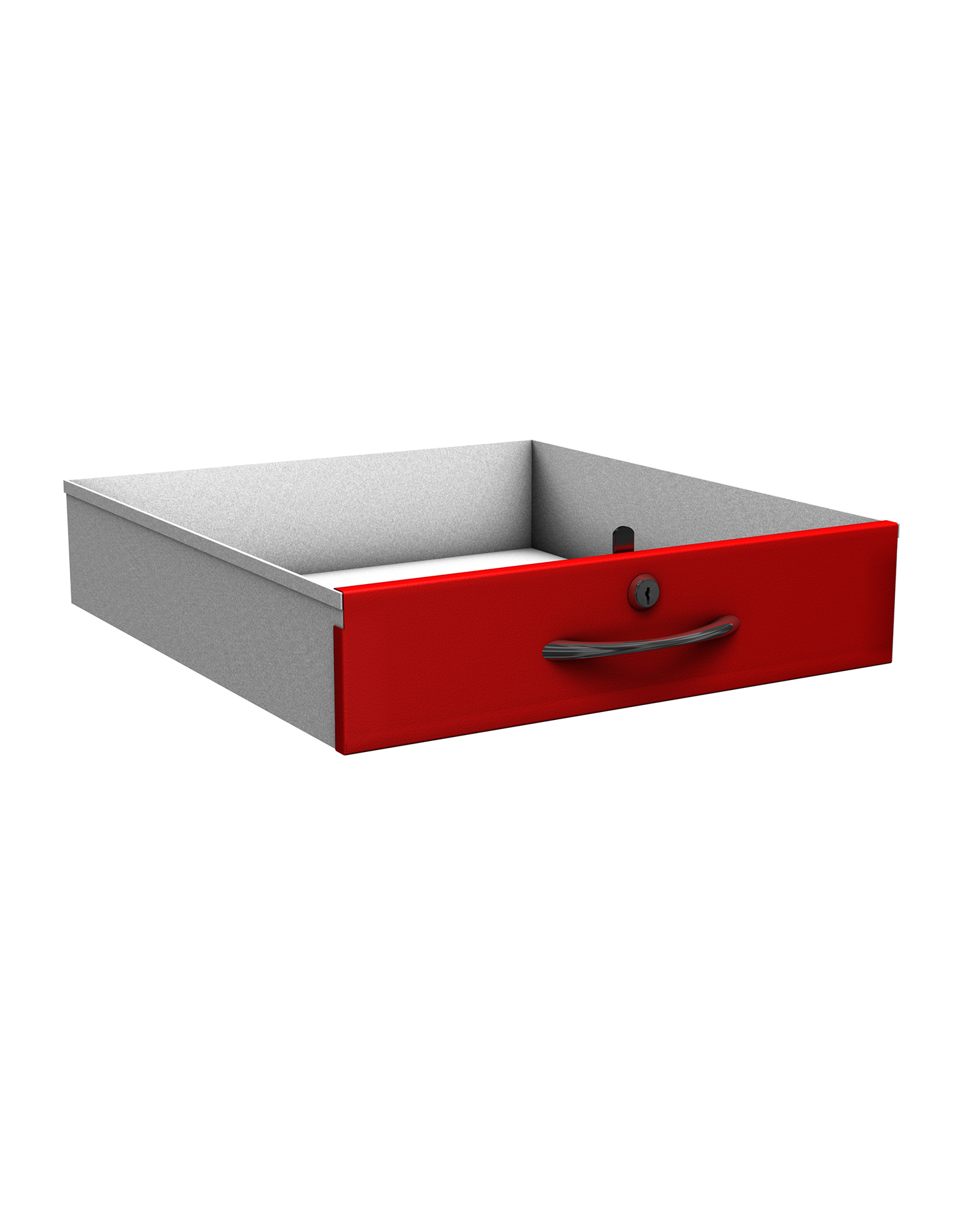 Probe new workstation drawer red