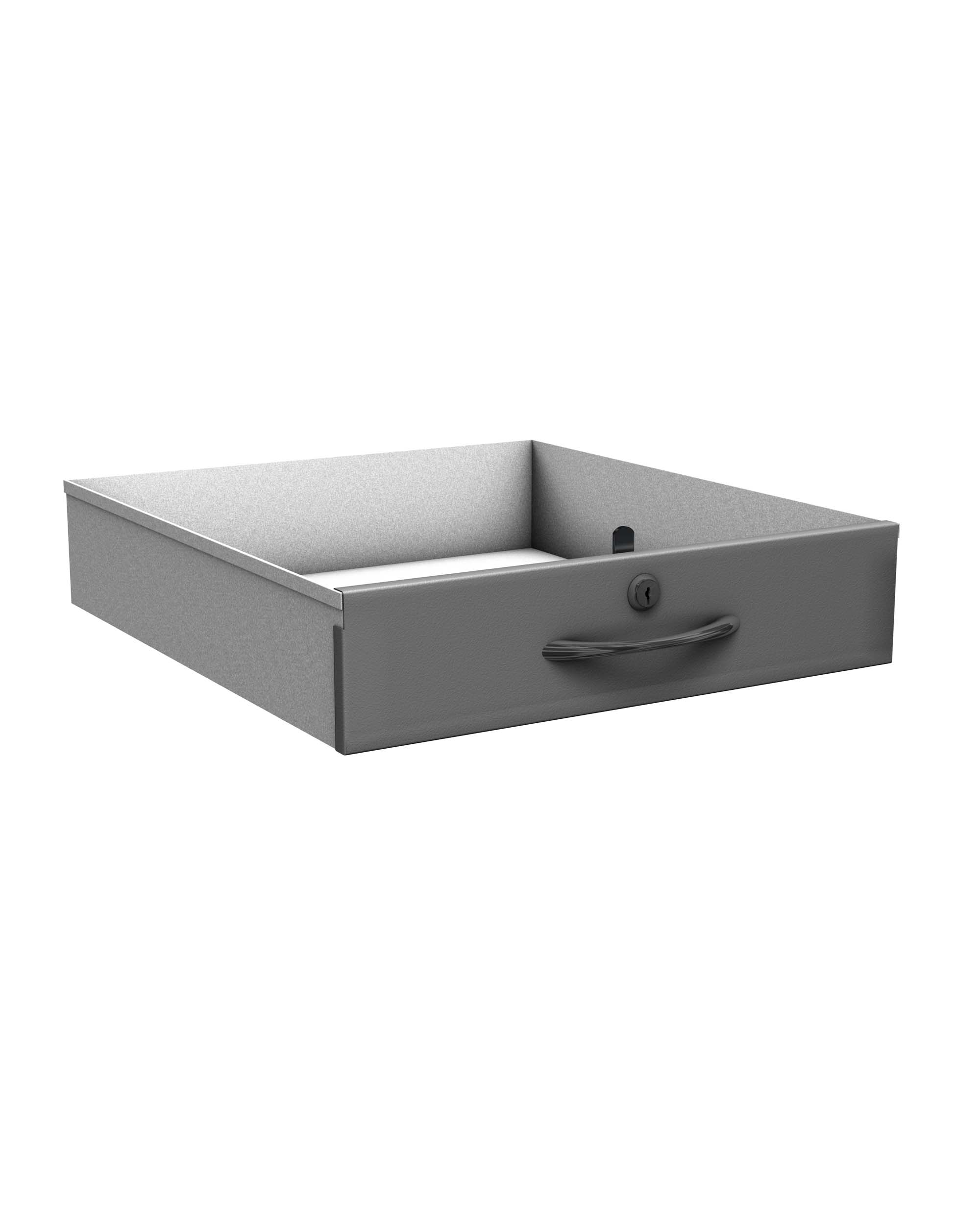 Probe new workstation drawer silver