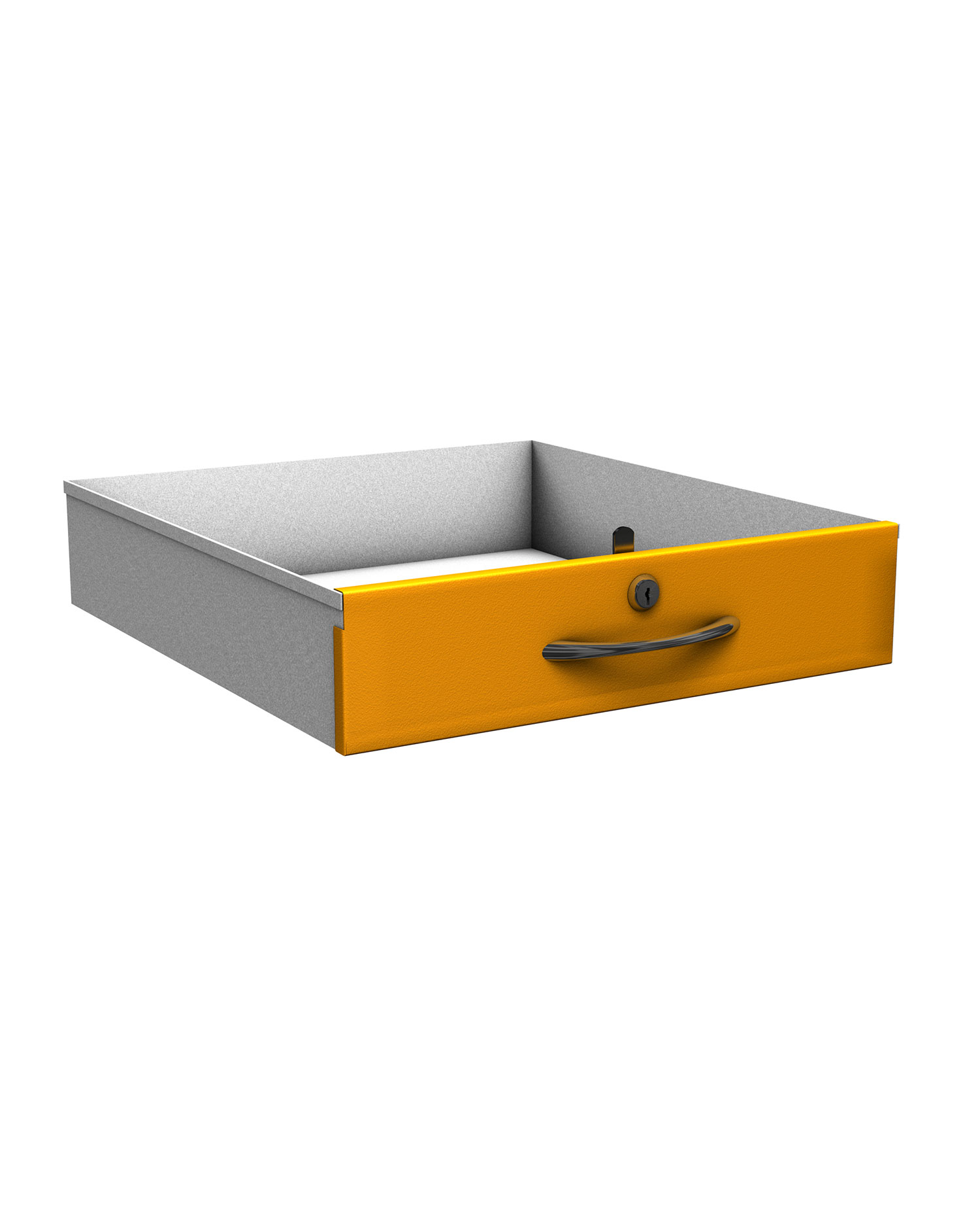 Probe new workstation drawer yellow