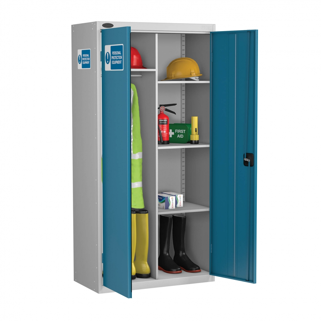 Probe PPE cabinet standard 6 compartments