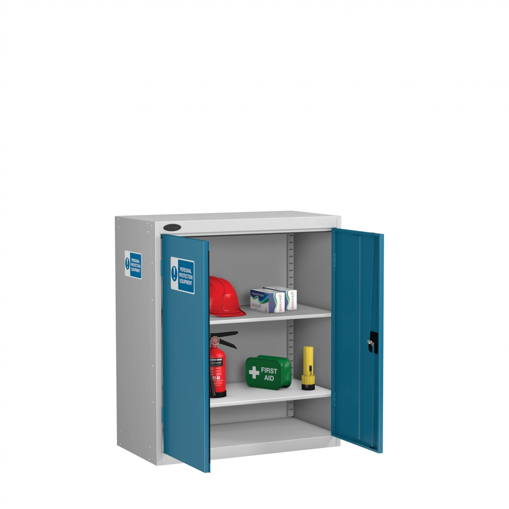 Probe PPE low cabinet in blue colour