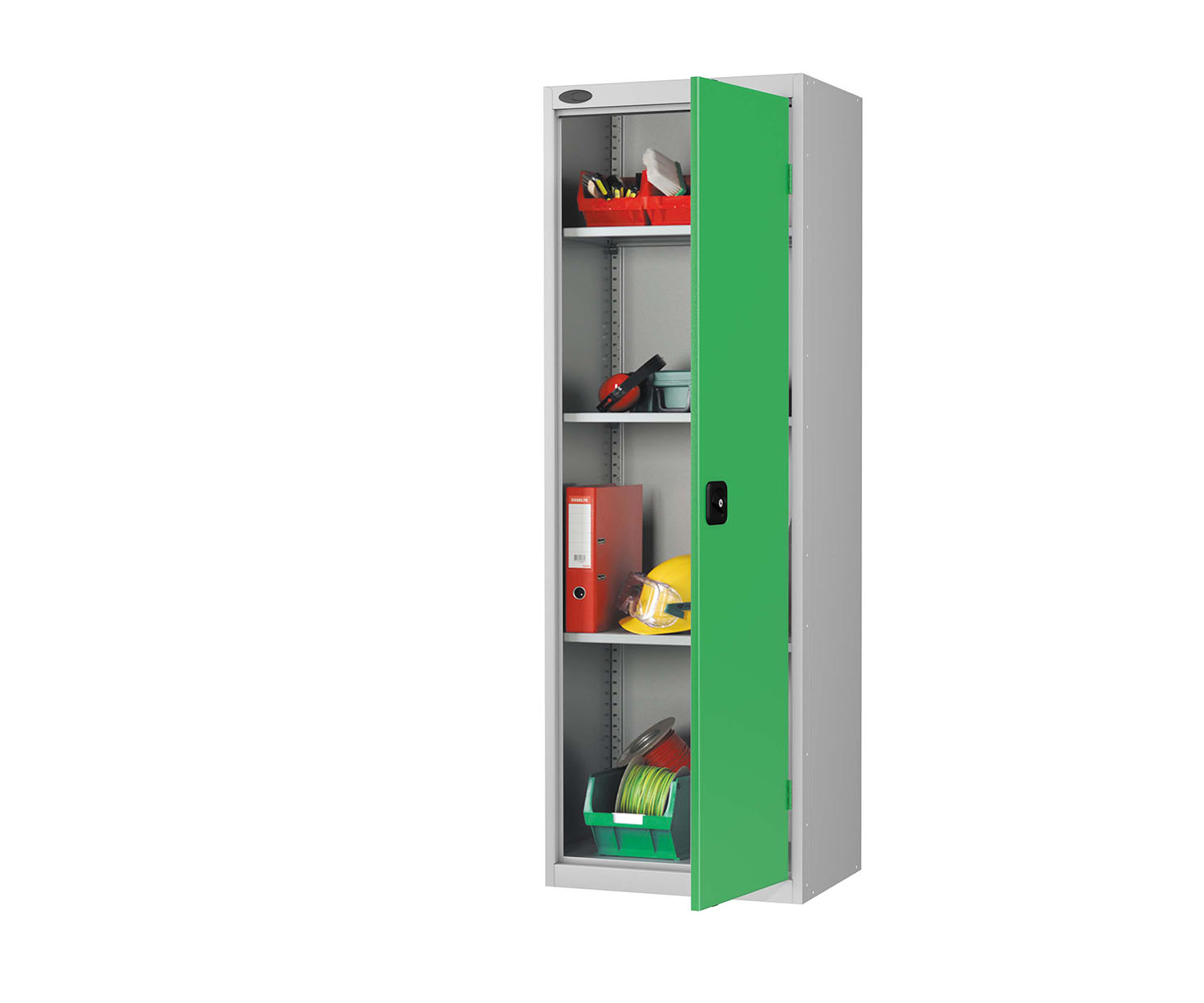 Probe slim cupboard green
