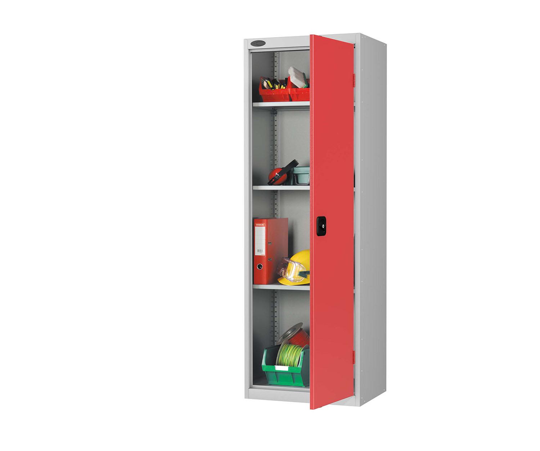 Probe slim cupboard red