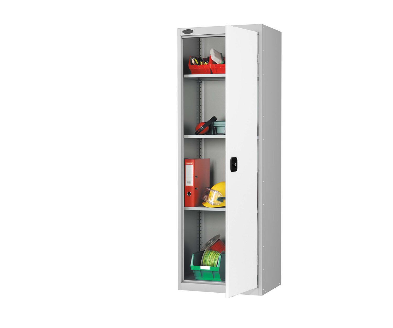 Probe slim cupboard white