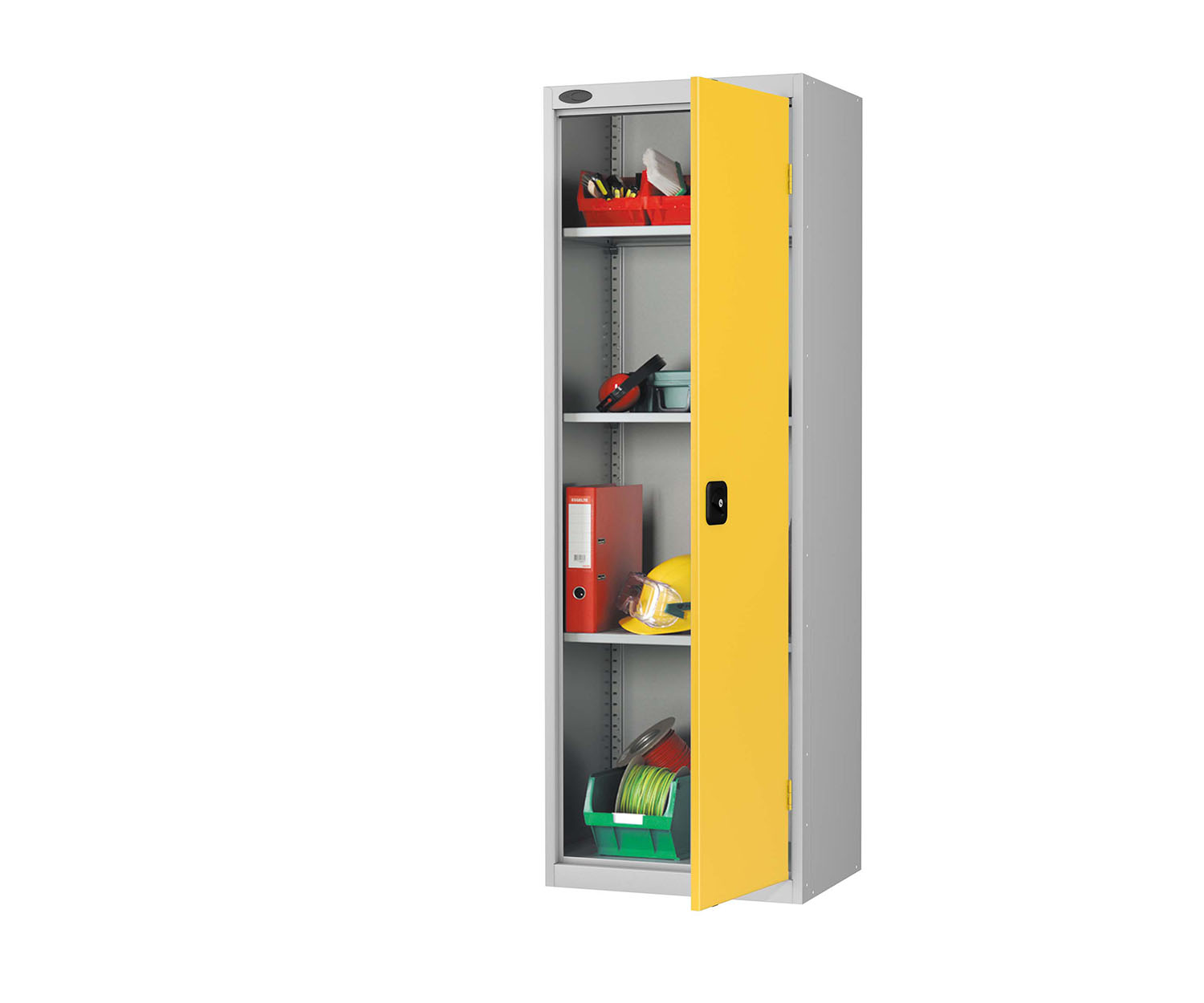 Probe slim cupboard yellow