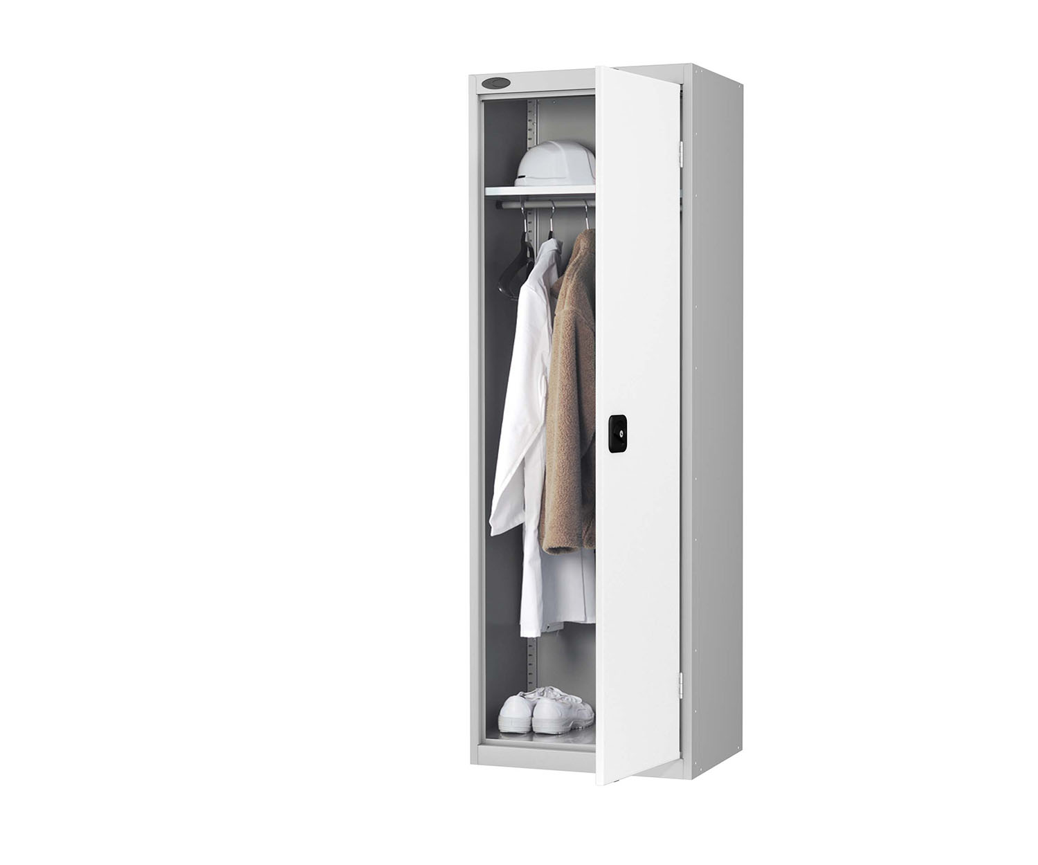 Probe tool slim wardrobe white