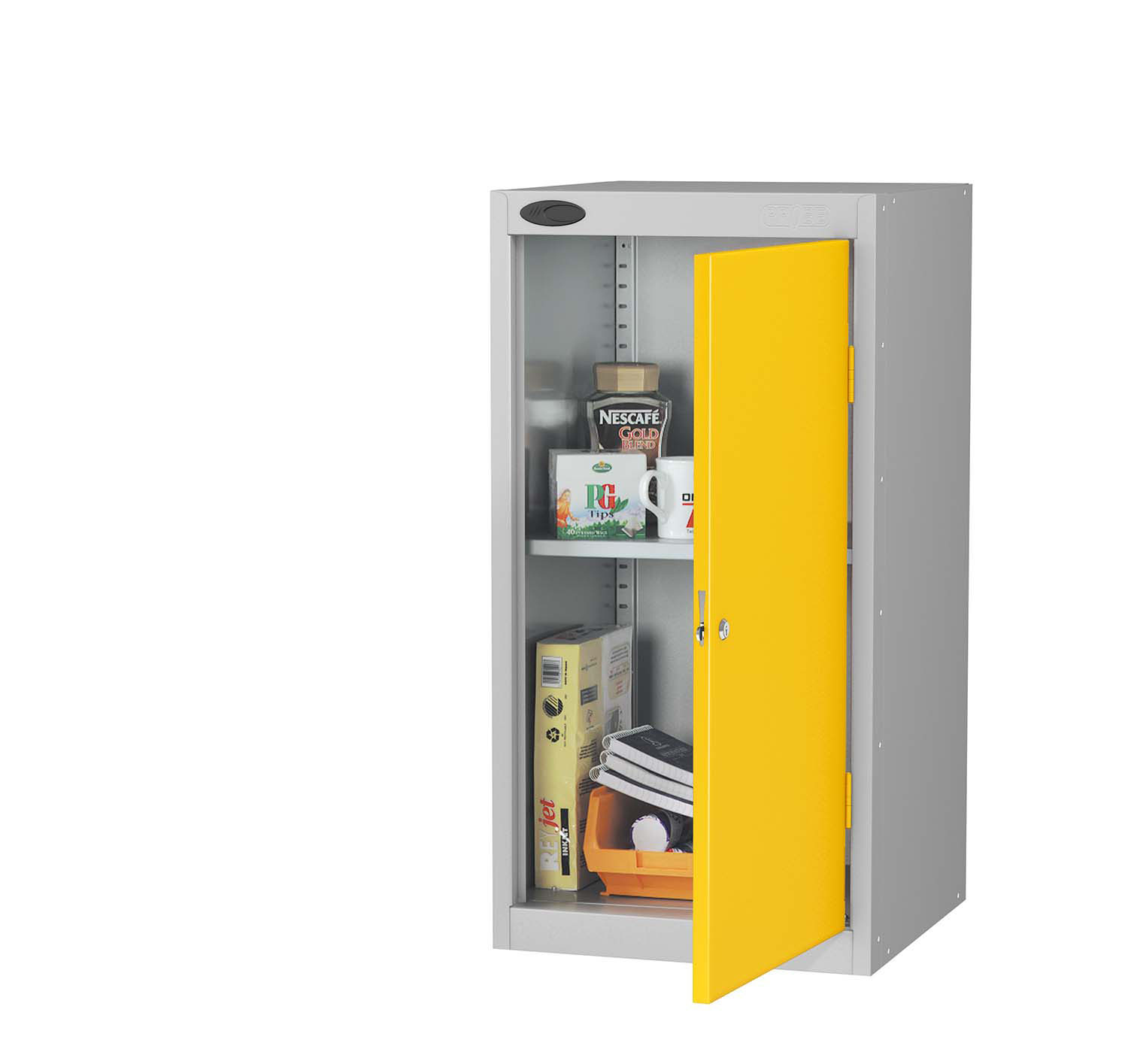 Probe small cupboard yellow