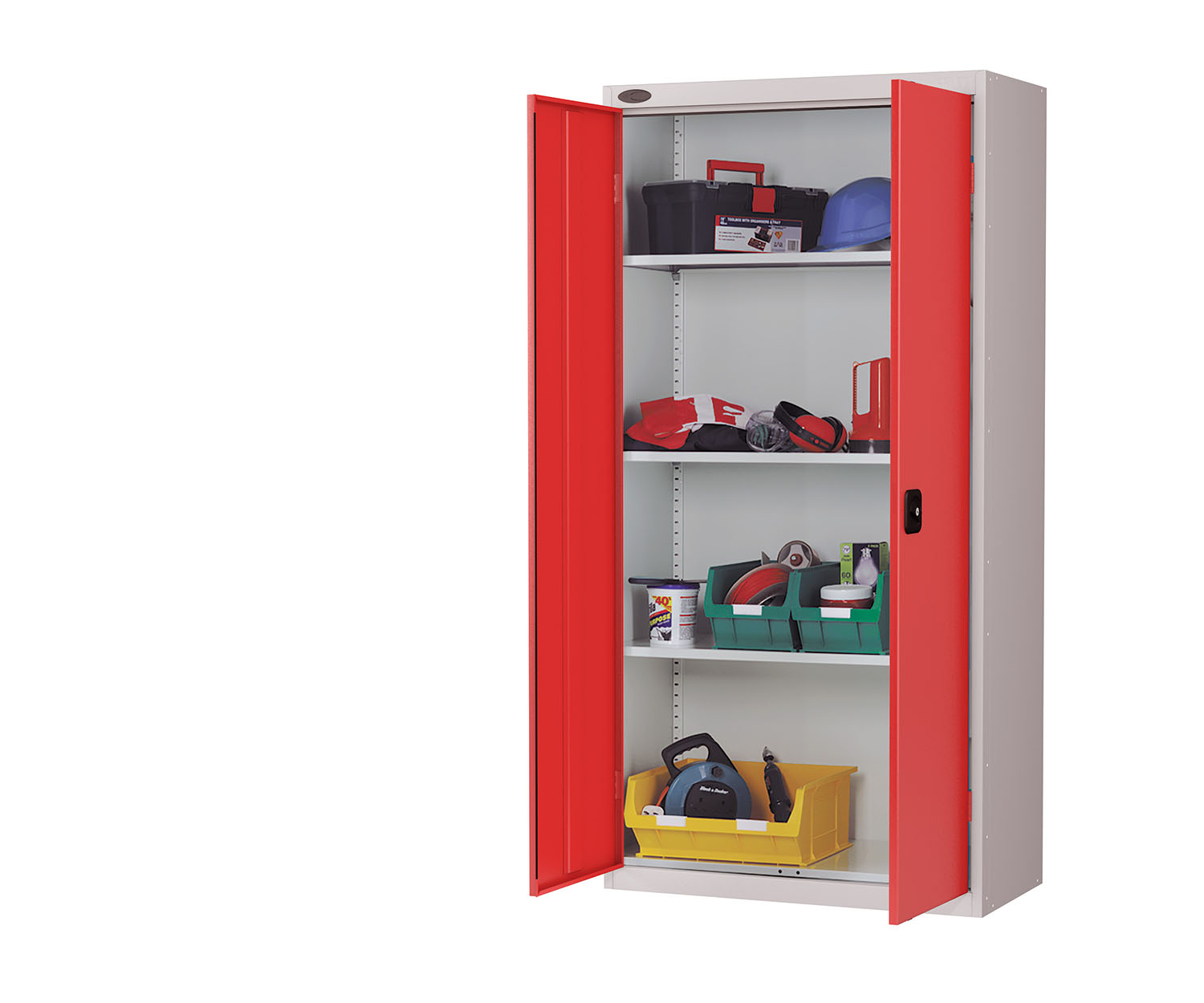 Probe standard cupboard red