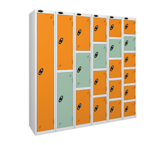 Probe steel leisure locker range