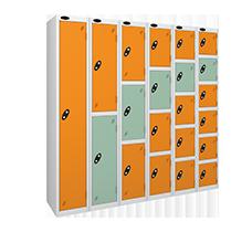 Probe steel leisure locker range