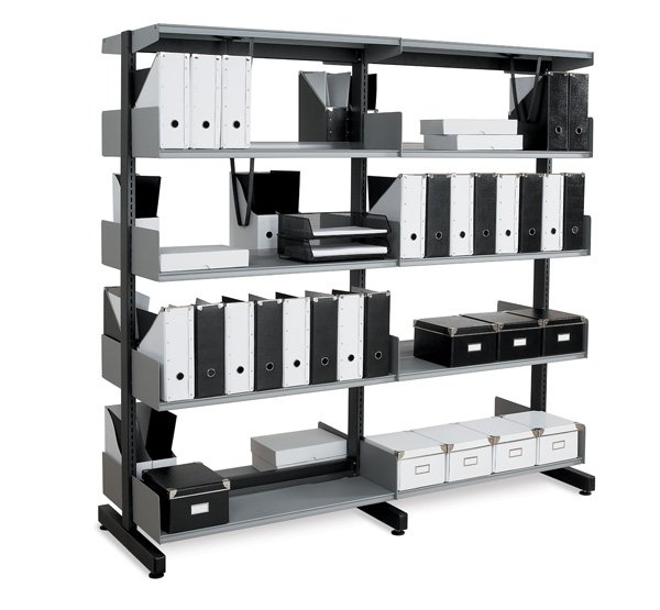 Probe technic library shelving
