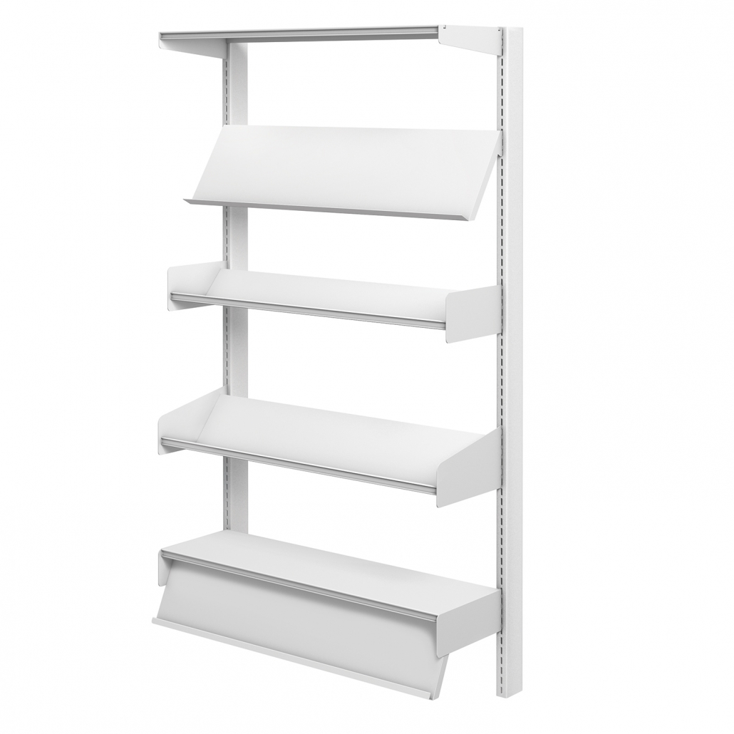 Probe technic library wall shelving
