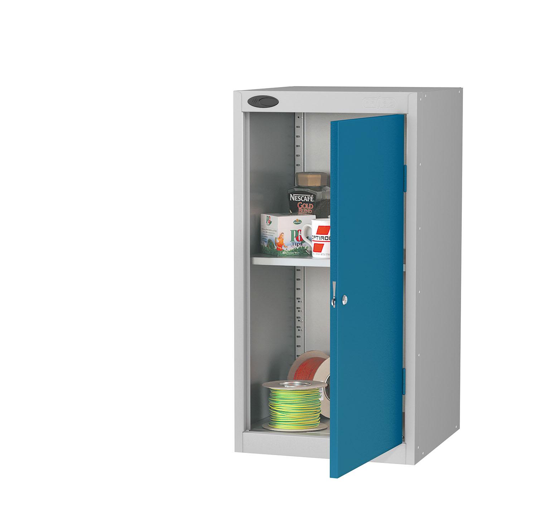 Probe tool cupboard blue
