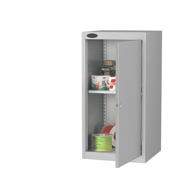 Probe tool cupboard silver
