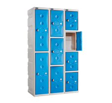 Probe weatherproof ultrabox plastic lockers