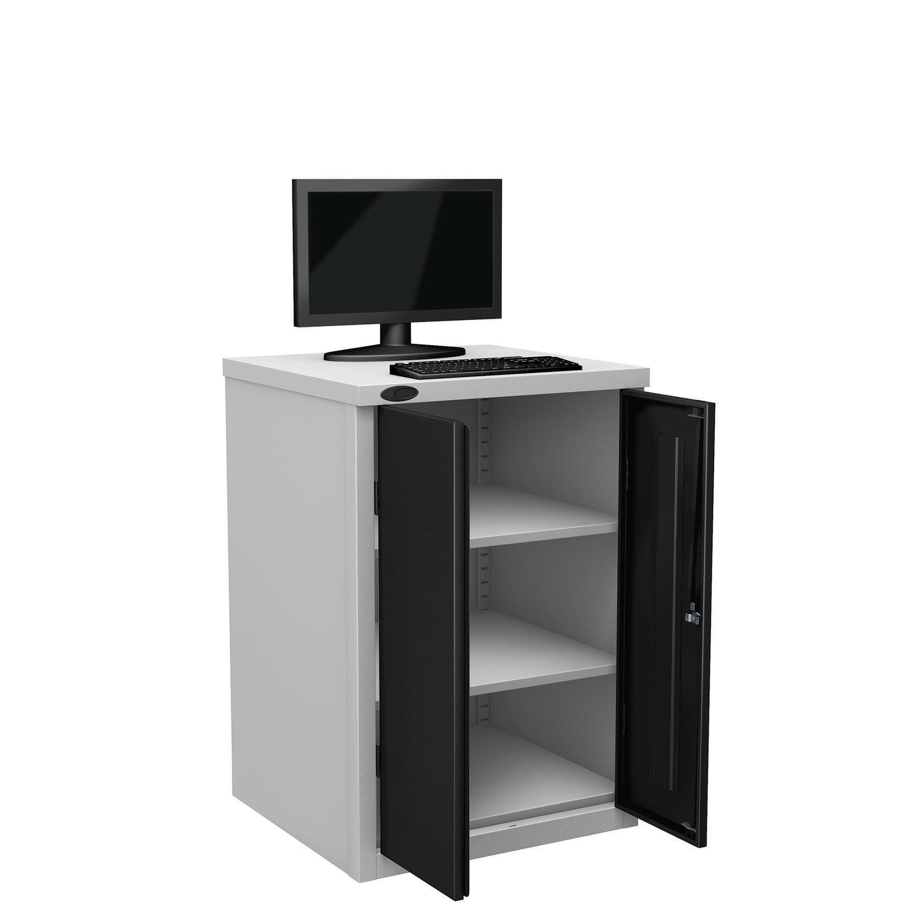 Probe workstation base monitor black