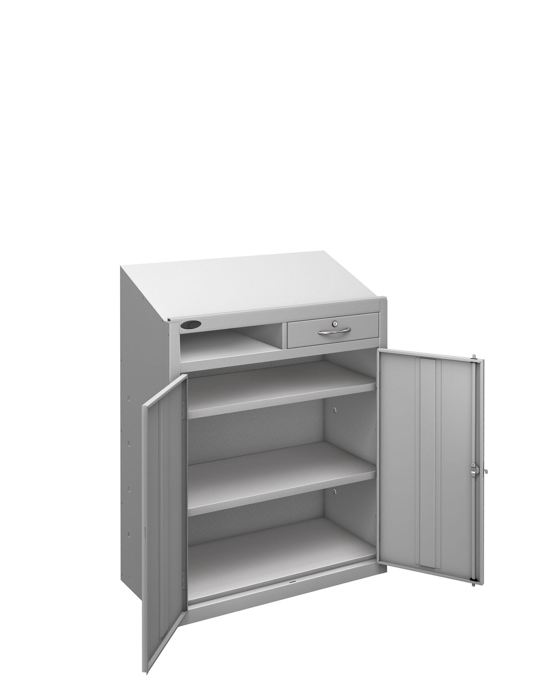 Probe workstation slope silver