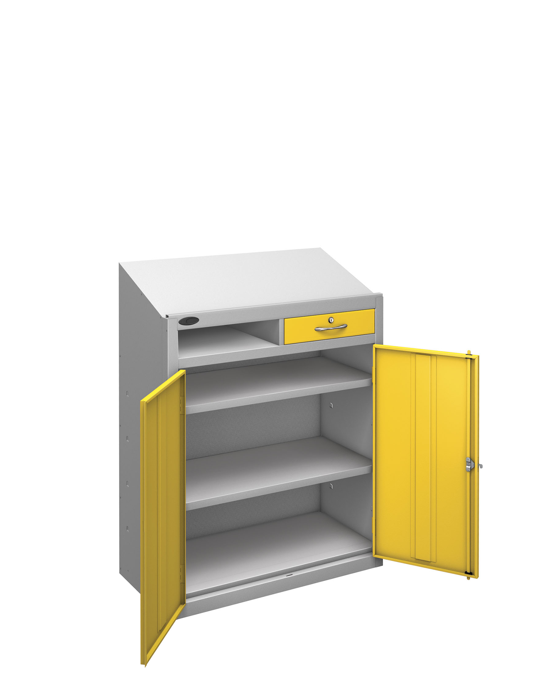Probe workstation slope yellow