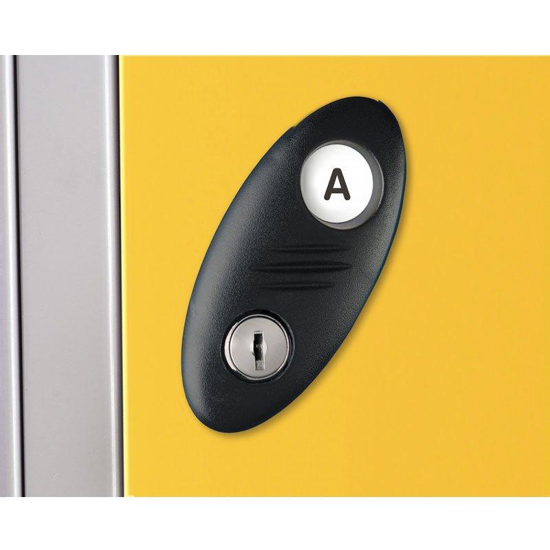 Probe steel locker lock option type A