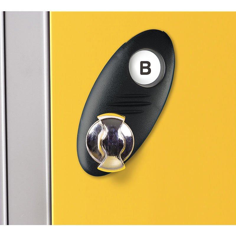 Probe steel locker lock option type B