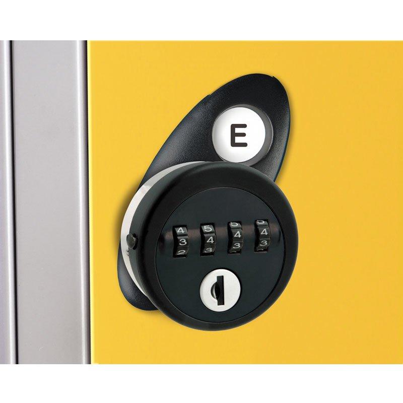 Probe steel locker lock option type E