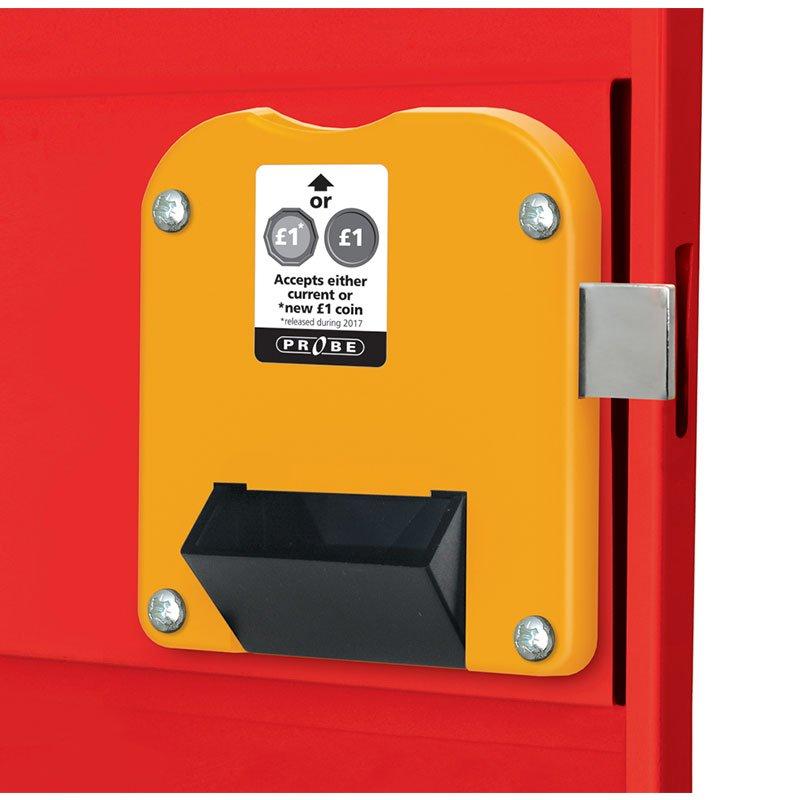 Probe steel locker lock option type H