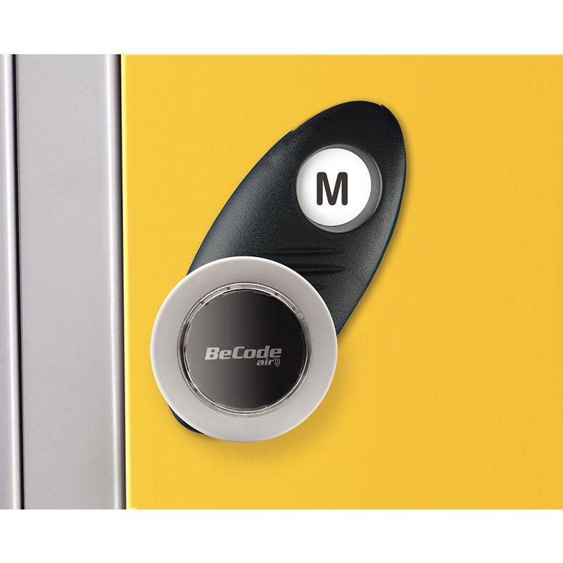 Probe steel locker lock option type M
