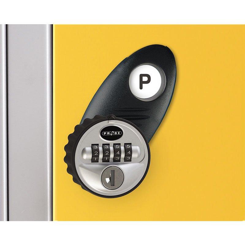 Probe steel locker lock option type P
