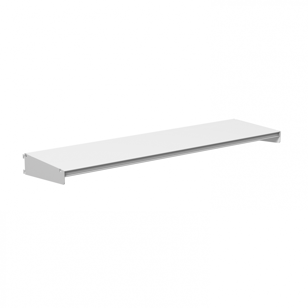 Technic library shelving flush close
