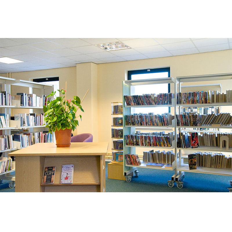 Probe technic library shelving for business