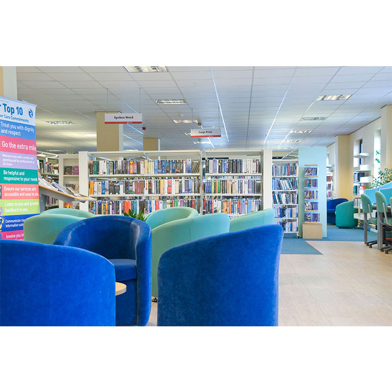 Probe technic library shelving for institute