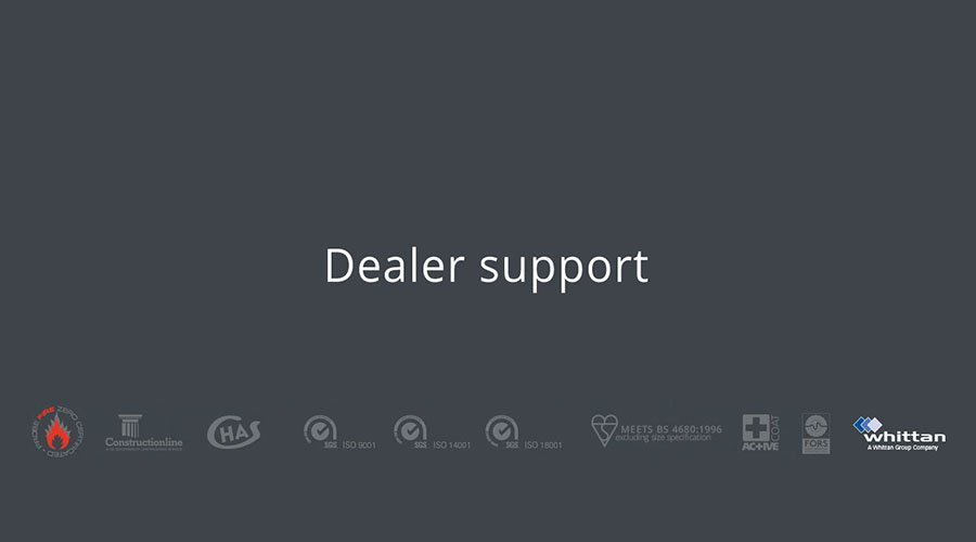 Probe dealer support mobile banner