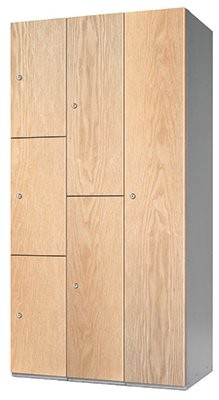 Probe timber box wood effect locker