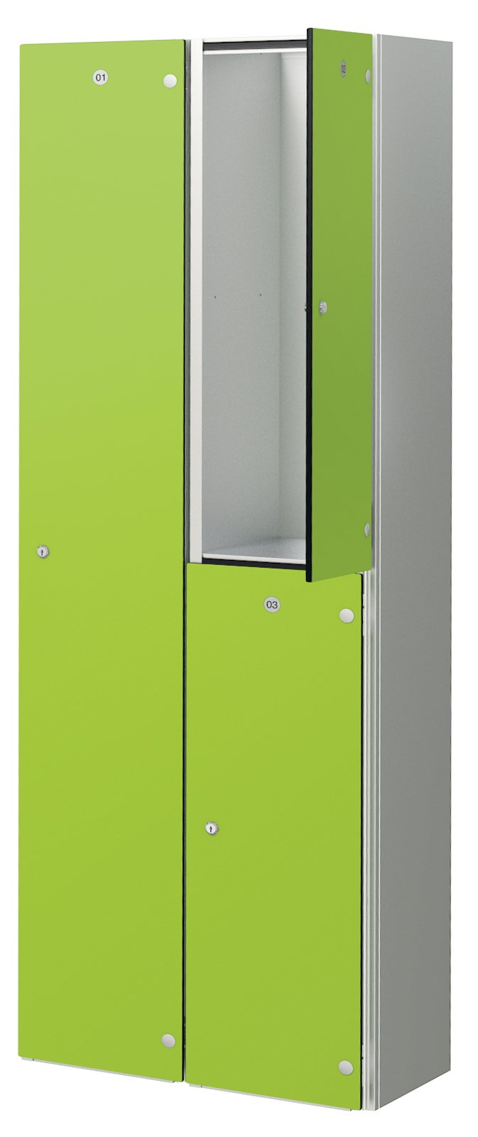 Probe zenbox aluminium lockers